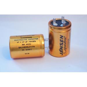 Jensen Electrolytic 47+47uF x 500V